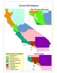 California Regions Regions Ca Census