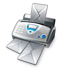 Fax Machine Icon Vector Free Download