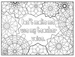 Vi students in the wichita public schools received tools to aid in instruction. 8 Free Adult Coloring Pages For Stressed Out Teachers
