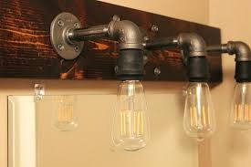 diy pipe lighting. Diy Pipe Lighting Light Fixture Black Iron Fixtures Making Fittings  Good Looking Few Projects .