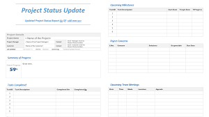 Status Updates Template Under Fontanacountryinn Com