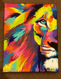 lion painting acrylic. Exellent Lion 11x14 Intended Lion Painting Acrylic N