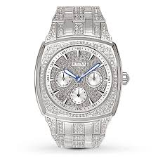 jared watches for men bulova men s watch crystals collection 96c002