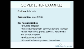 What S In A Cover Letter 1 Youtube
