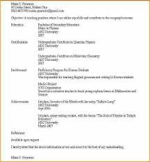 Examples Of High School Student Resume High School Student Resume Template No Experience Fantastically 65