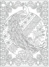 Small Picture Peacock coloring pages printable for adults ColoringStar