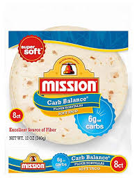 mission carb balance soft taco flour tortillas low carb keto high fiber no sugar small size 8 count amazon grocery gourmet food