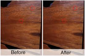 how to seal wood scratches with a walnut