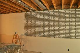 basement wall paintStunning Design How To Paint A Basement Wall Poured Basement