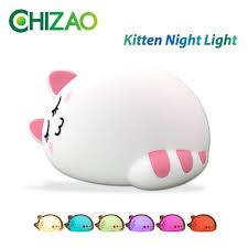 Goede Koop Chizao Cartoon Kat Kind Lamp Kinderen Dier Led