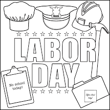 Small Picture Labor Day Song and Printable Coloring Page Beginning of the Year