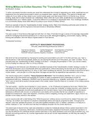 Do You List Military Awards On A Resume Awesome Military Resume Writing  Services