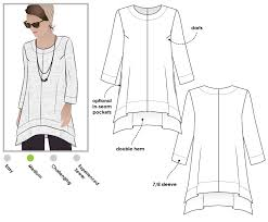 Designer Sewing Patterns Best StyleArc Daisy Designer Tunic