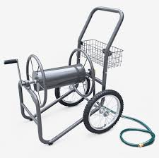 garden hose reel cart. Two Wheel Industrial Hose Reel Cart - 300ft Capacity Garden
