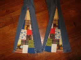 diy patchwork bell bottom jeans by amyvsfabric