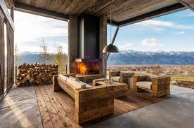 Rustic Contemporary Furniture Image Of Rustic Modern Outdoor