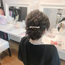 Moriyama Mamiさんのヘアスタイル 結婚式のお客様久しぶり