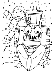 Small Picture Bob The Builder Color Pages Coloring Home