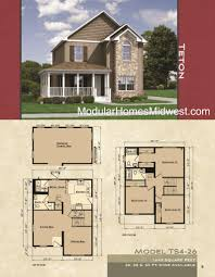 >modular homes illinois photos  two story modular floor plan