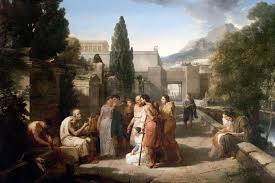Homer Singing His Iliad at the Gate of Athens fit=800 534