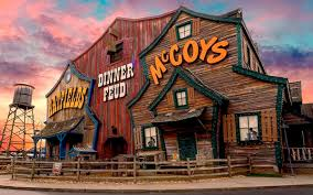 Our Pigeon Forge Dinner Show Hatfield Mccoy Dinner Feud