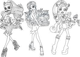 Small Picture Monster High Gigi Coloring Pages GetColoringPagescom