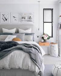 Bedroom: Simple Romantic Bedroom With Curtain Decor - Bedroom Designs