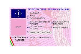 Company - Driving Principal Italy License Relocation In