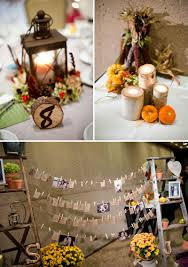 Diy Fall Decorations Rustic Diy Fall Wedding Every Last Detail