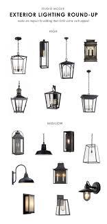 exterior lantern lighting. Studio McGee | Our Favorite Exterior Lights- Http://centophobe.com/studio-mcgee-our-favorite-exterior-lights/ Lantern Lighting L