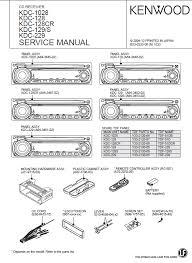 kenwood kdc 128 service manual pdf kenwood kdc 1028 128 129 229 cd receiver service manual