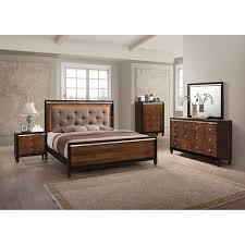 New design for bedroom furniture Master Bedroom 7piece Clarice Queen Bedroom Collection New Classic Home Avetex Furniture Rent To Own Bedroom Sets Aarons