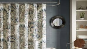 appealing turn curved tension shower curtain polyester into rod curtains set bath bathroom sets and window