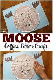 This way you end up with a triangle. Coffee Filter Crafts For Kids Coffee Filter Snowman Craft Look We Re Learning