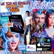 The Official Uk Top 40 Singles Chart Free Download Uk Top 40 Singles April 13 1985 Electric Thunder Radio Podcast