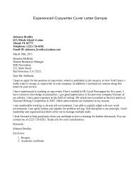 Resume Cover Letter Format For Experienced - Letter Idea 2018
