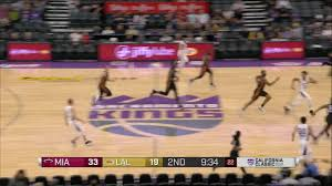 2nd quarter one box los angeles lakers vs miami heat