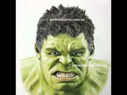 This one i also apply a quick color to hulk a bit. The Hulk In Colour Pencil Youtube
