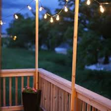 Terrace lighting Terrace Party Outdoor Lighting Thumbnail Size Outdoor Terrace Lighting Ilblco Courtyard Poles String Lights Hang Festoon Diy Exclusive Floral Designs Terrace Lighting Awesome With Wooden Wall And Beams Also Led Rooftop