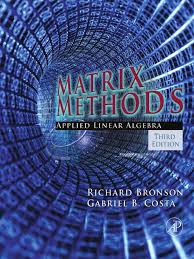Matrix Methods - Applied Linear Algebra 3Rd Ed - Bronson,costa.pdf ...
