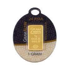 1 gr 24 Ayar Gram Külçe Altın Fiyatları