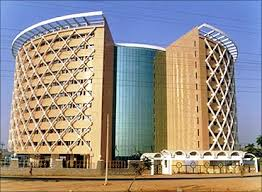 microsoft office building. Cyber Towers, Hyderabad. Microsoft Office Building