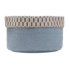 Ninon Korb Für Das Badezimmer Blau Design By Floriane Jacques