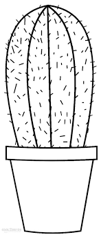 Small Picture Printable Cactus Coloring Pages For Kids Cool2bKids