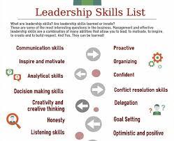 leadership skills resume com leadership skills resume