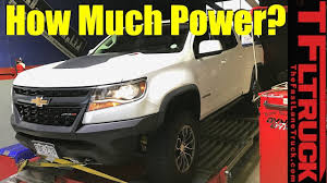 Chevy Colorado ZR2 Diesel: You Won't Believe the Dyno Numbers ...