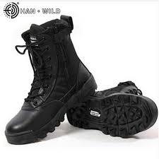 <b>Full Season Military</b> Uniform <b>Boots</b> Cowhide Genuine Leather ...