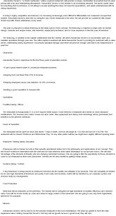 business plan executive summary example for restaurant business plan  executive summary example for restaurant coffee kiosk
