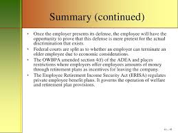mm chapter age discrimination power point outline  15