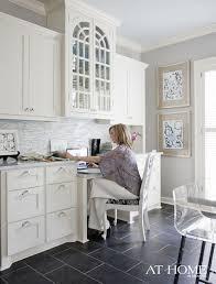 office in kitchen. kitchen office nook in